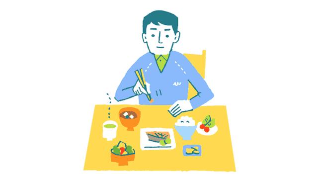 一人暮らしの食事