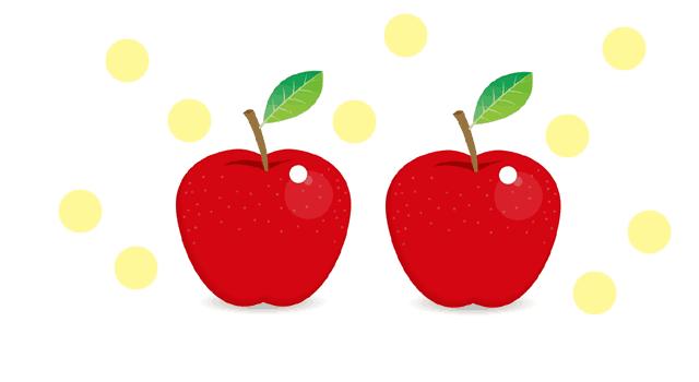リンゴとエチレンガス