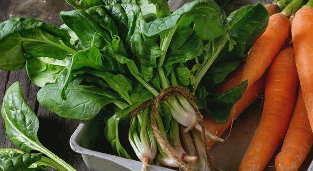にんじん・葉物野菜