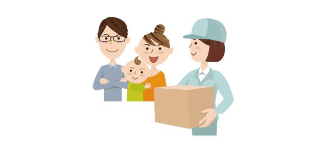 子育て世帯向け宅配
