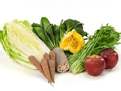 子どもたちへの安心野菜セット