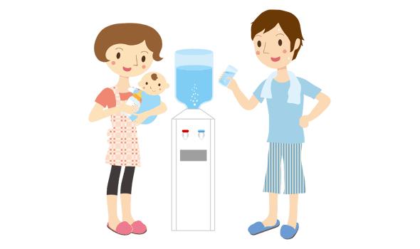 美味しい水が飲める水宅配が人気急上昇!家庭でウォーターサーバーを使うメリット・デメリット