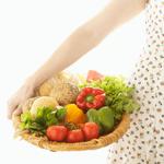 有機野菜に虫が混入している可能性を心配する