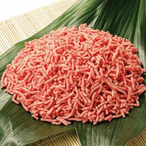 国産牛ハーブ豚6:4合挽肉バラ凍結