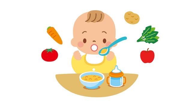 離乳食と野菜
