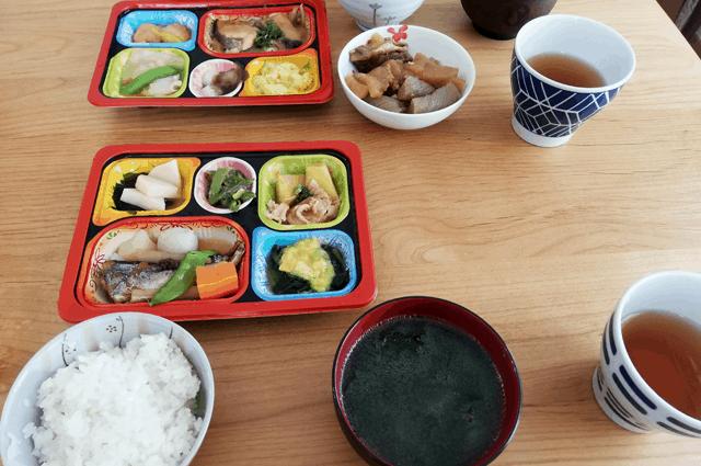 食宅便の塩分ケア2食