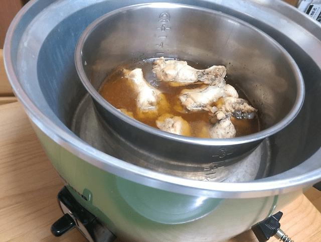鶏手羽元のすっぱ煮