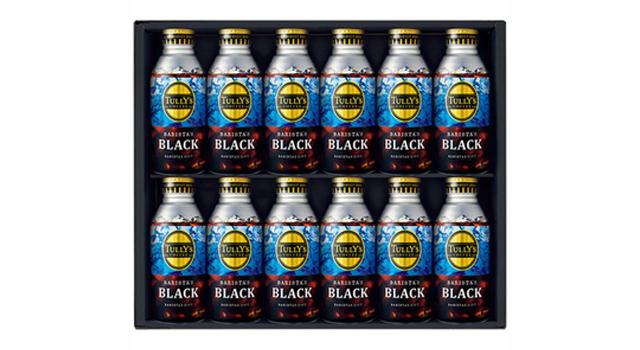 タリーズコーヒー ボトル缶ブラックコーヒーギフト