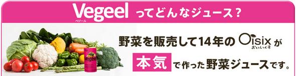 Oisixの野菜ジュースVegeel(ベジール)